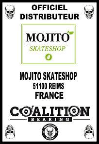 Coalition Bearing Distritution officiel mojito skateshop