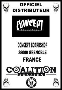 Coalition Bearing Distritution officielconcept skateshop