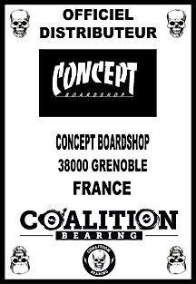 Coalition Bearing Distritution officielconcept skateshop