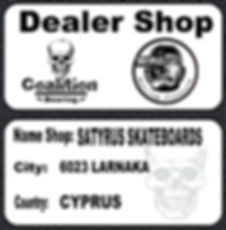 SATYRUS SKATEBOARDS Dealer shop Coalition Bearing