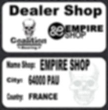 Roulement à billes skate  Coalition Bearing EMPIRE shop 64000 PAU Coalition bearing