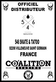COALITION BEARING Distritution officiel 546