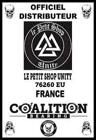 LE PETIT SHOP UNITY Distritution Officiel COALITION BEARING