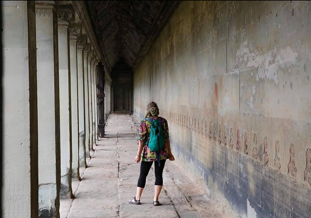 Cambodia, Angkor Wat, recovery yoga, yoga, yoga teacher, travel, yoga retreat, sober yoga retreat