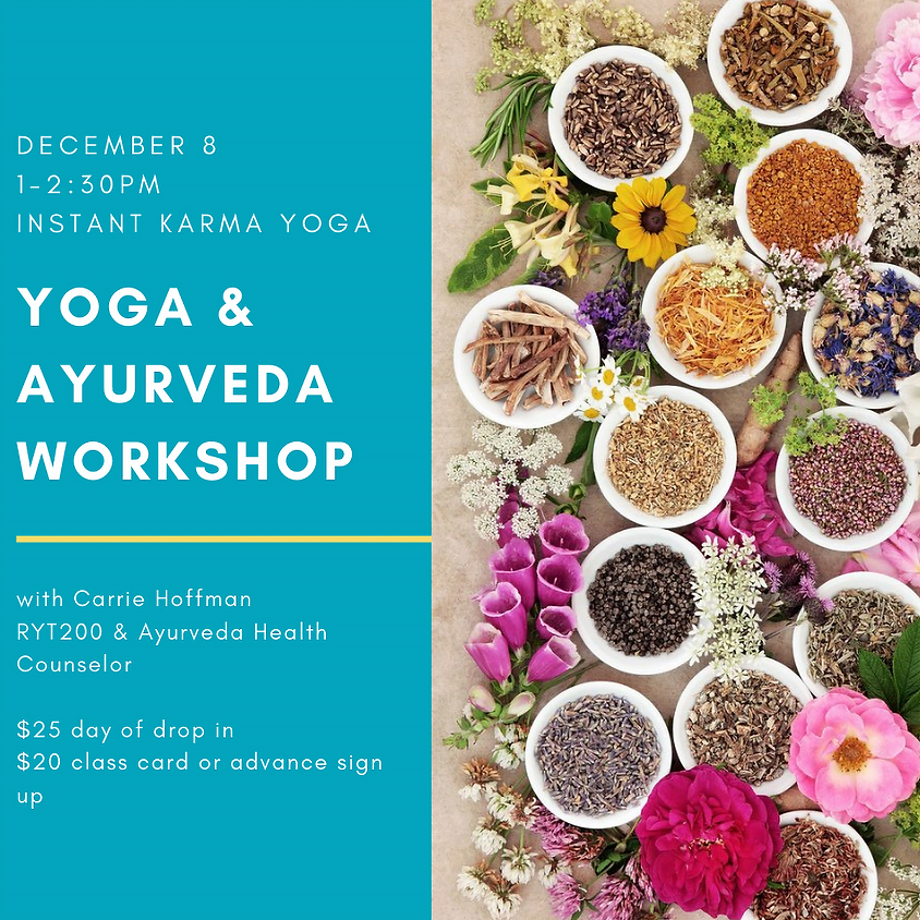 Yoga & Ayurveda Workshop in Joshua Tree, California