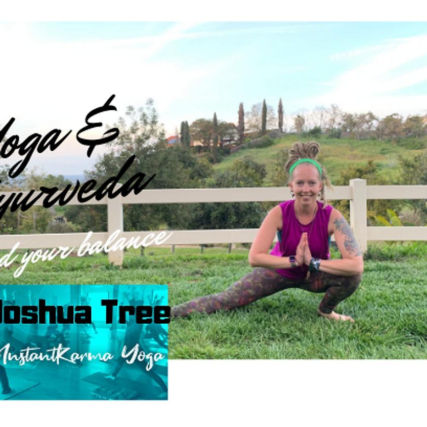 Balance Your Life and Mind: Yoga & Ayurveda Workshop
