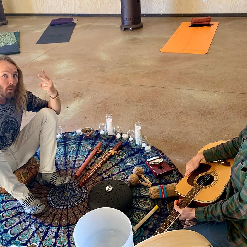 Restorative Yoga with Sound Healing Class
