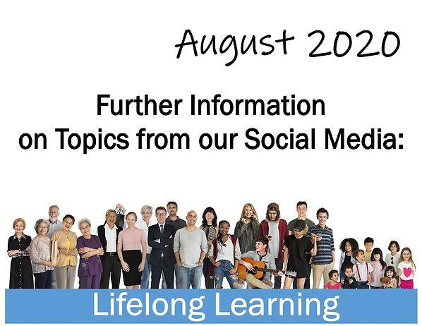 Lifelong Learning header art for social