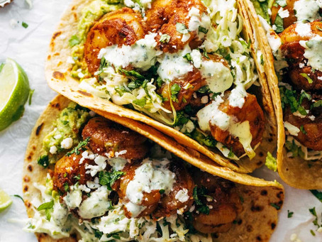 Delicious Cilantro Lime Shrimp Tacos