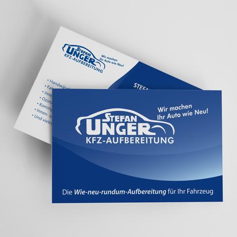 KFZ Unger Visitenkarte