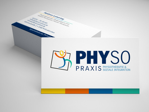 PhySp Praxis Visitenkarte
