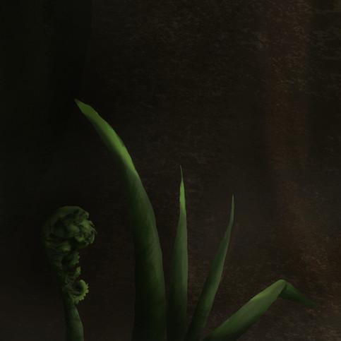 Der Froschkönig, Detail Fauna