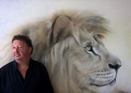 Löwe Portrait
