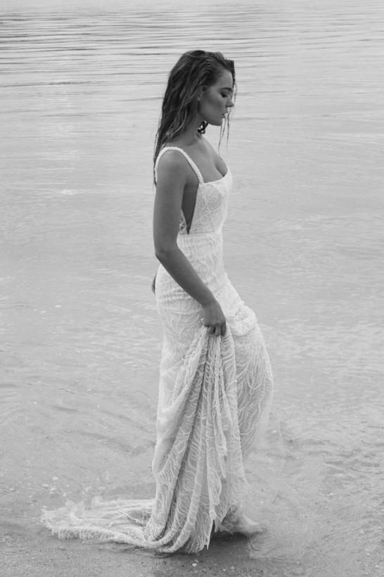 Alena Leena Bridal 'Calathea' Gown at Halo & Wren Bridal