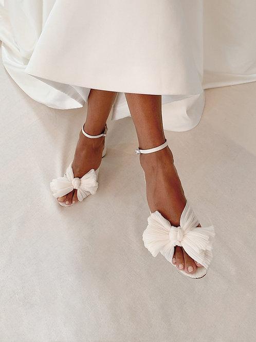 *PREORDER*Loeffler Randall 'Camellia' Heels in Pearl