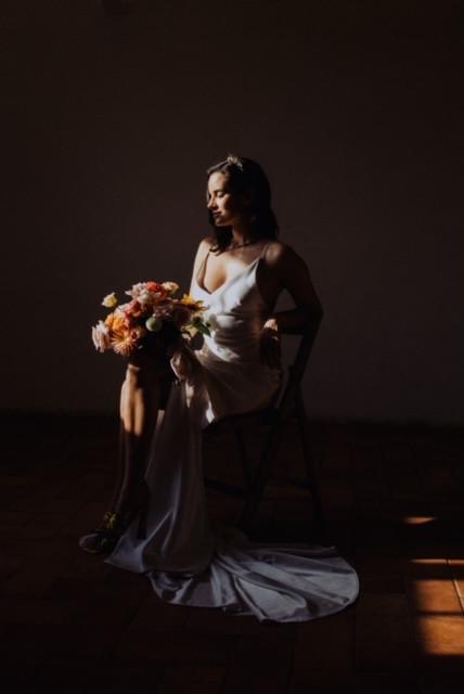 Alena Leena Bridal 'Wren' GownManonPauffi