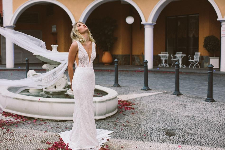 Made With Love Bridal Riley Boho Gown at Halo & Wren