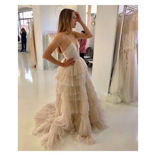 AlenaLeena Bridal 'Bells' Gown
