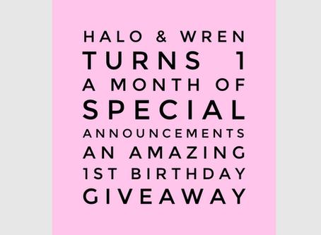 Giveaway & Birthday