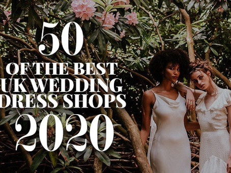 The 50 Best Bridal Boutiques in the UK featuring HALO & WREN