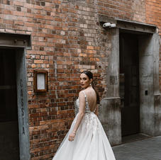 Kelly Lin Couture Katherine Bridal Gown Size 10