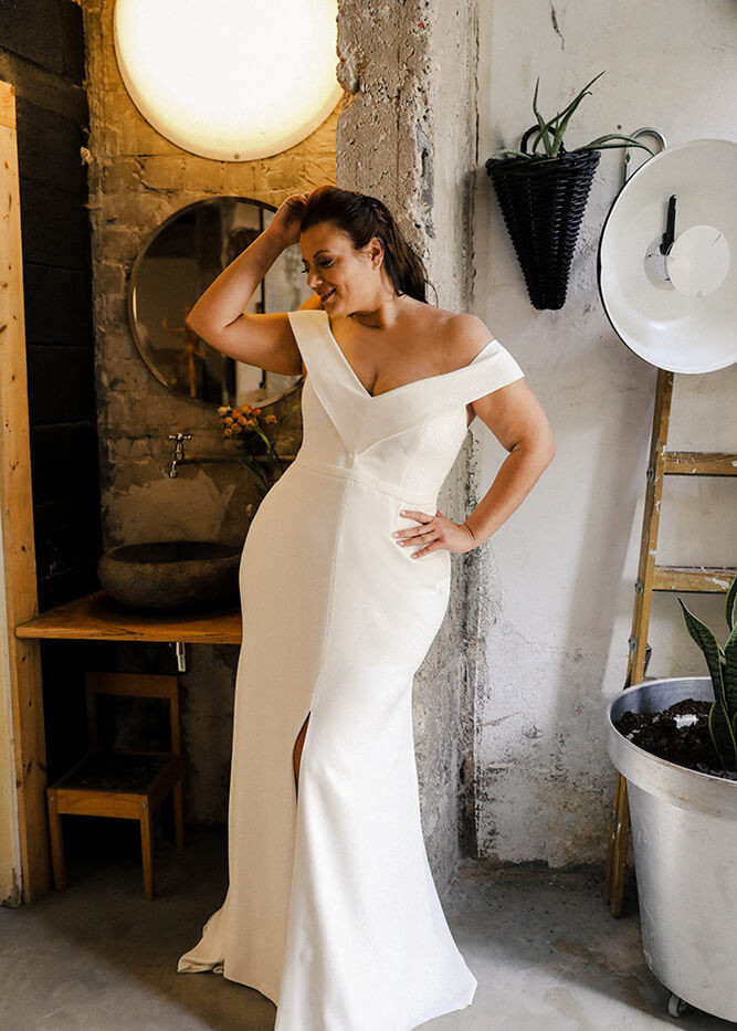 Studio Levana 'Francis' at Halo & Wren Bridal