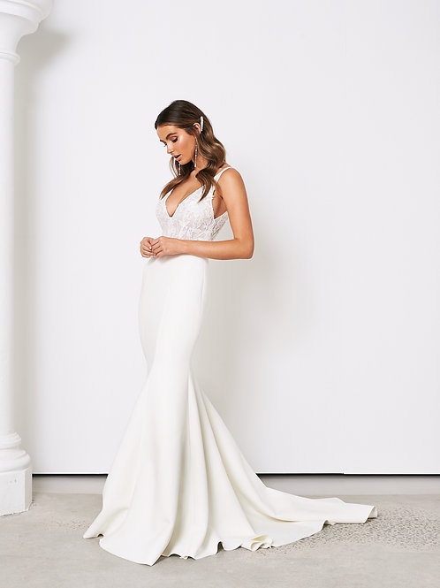 Jane Hill Bridal 'Camille' Ivory Bridal Gown