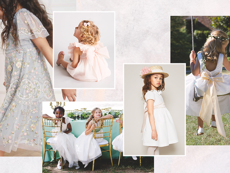 For the little ladies: Flowergirls