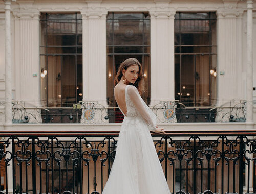 Alena Leena Rosa Bridal Gown Wedding Dress