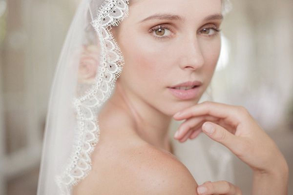 Veil by Helen Martin Bridal Veils at Halo & Wren