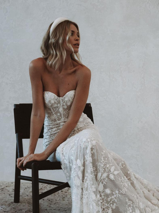 Mde With Love Bridal 'Penny' Gown at Halo & Wren