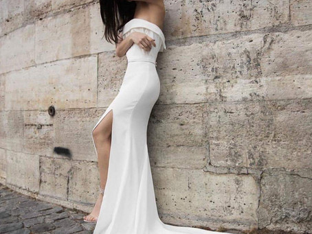 Off the Shoulder Bridal Gown Trends