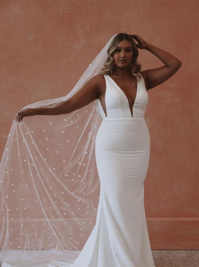 Made With Love Bridal Ryderin Crepe