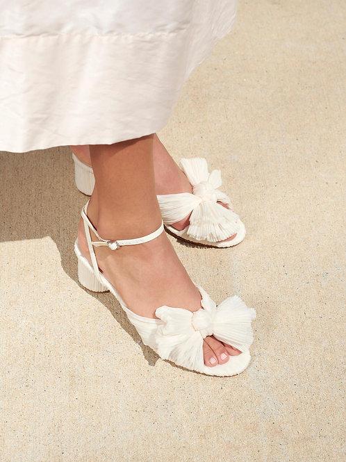 *PREORDER*Loeffler Randall 'Dahlia' Heels in Pearl