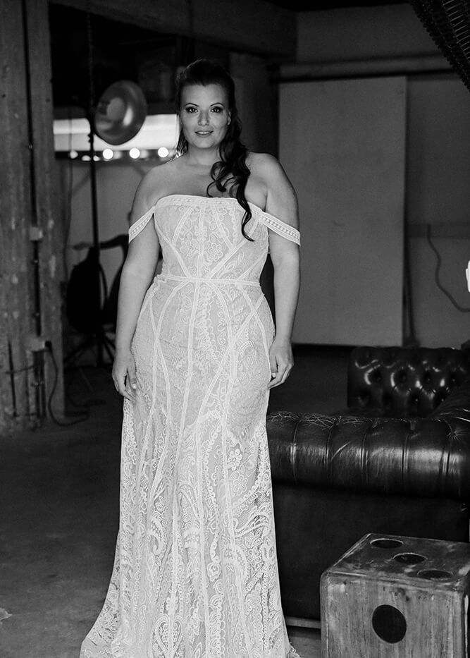 Studio Levana 'June' at Halo & Wren Bridal