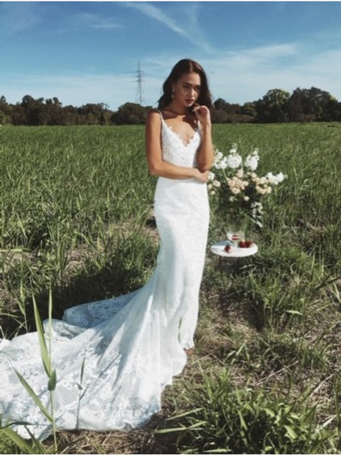 Emmy Mae 'Bowie' Bridal Gown UK12