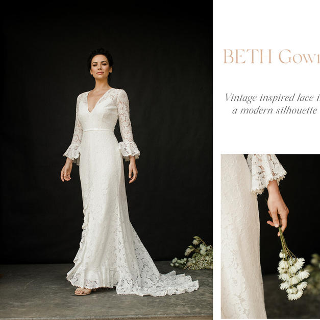 Beth Gown Miracle Love Amy New Bridal