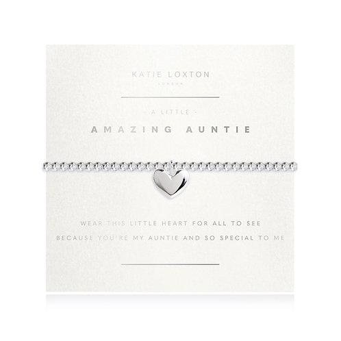 Katie Loxton Amazing Auntie Stretch Bracelet