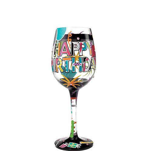 Lolita Birthday Wine Glass