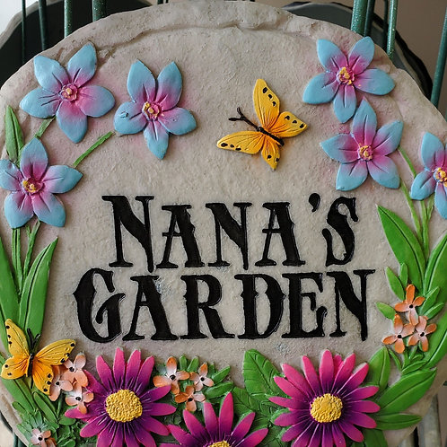 Nana's Garden Stepping Stone