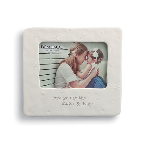 DEMDACO Love You To the Moon and Back Frame