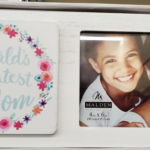 MALDEN World's Greatest Mom Picture Frame