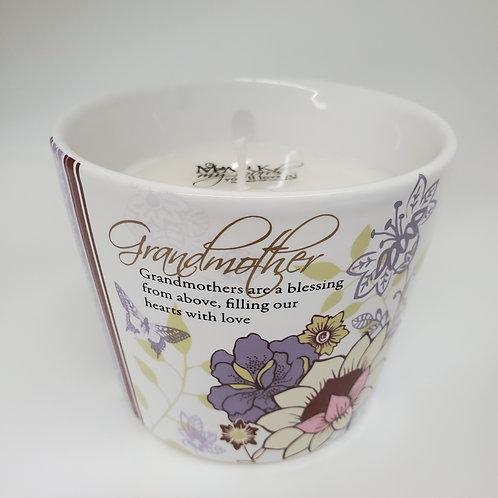Grandmother - 8 oz Soy Wax Candle Scent: Tranquility