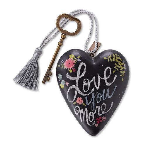 DEMDACO Love You More Art Heart