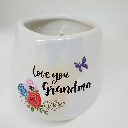 Grandma 8 oz - 100% Soy Wax Candle Scent: Serenity