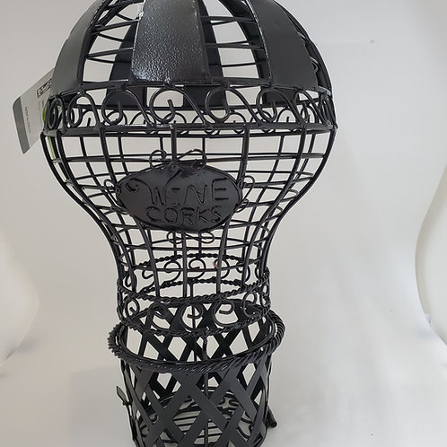 Hot Air Balloon Wine Bottle Cork Cage
