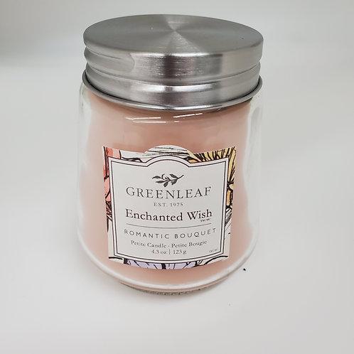 Greenleaf Enchanted Wish Petite Glass Jar Candle