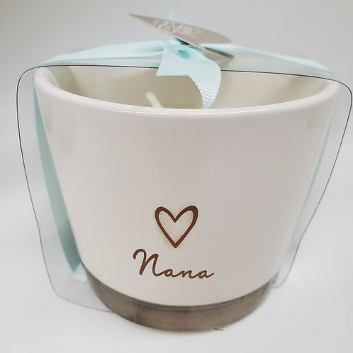 Nana - 8 oz - 100% Soy Wax Candle Scent: Tranquility