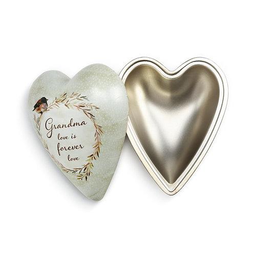 Grandma Art Heart Keeper Box