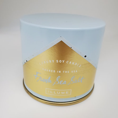 LLUME Luxury Soy Candle Fresh Sea Salt